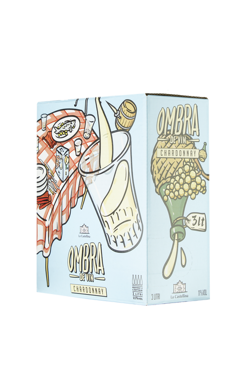 Chardonnay Ombra De Vin Bag in Box La Castellina